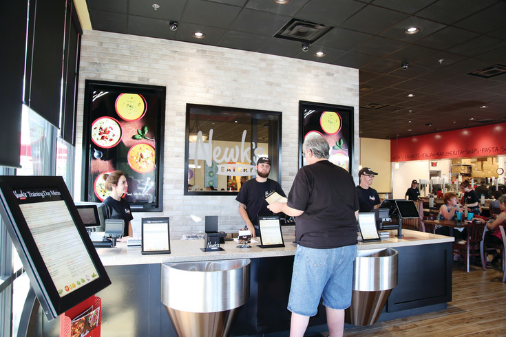 Newk's Eatery is now open for business in the Arvada Marketplace west shops.