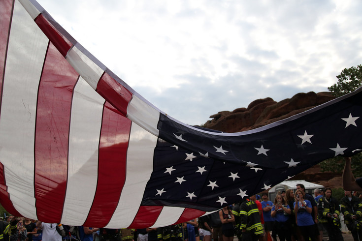 This is the ninth year of the Colorado 9/11 Stair Climb remembering the events of Sept. 11, 2001.