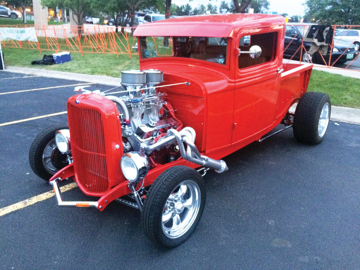 Ridgefest roared with the sounds of classic cars and live music Sept. 9 at The Green on Ridge at 38. The annual event helps highlight the Ridge at 38, a commercial district at the heart of Wheat Ridge, located on West 38th Avenue between Sheridan and Wadsworth Boulevards.