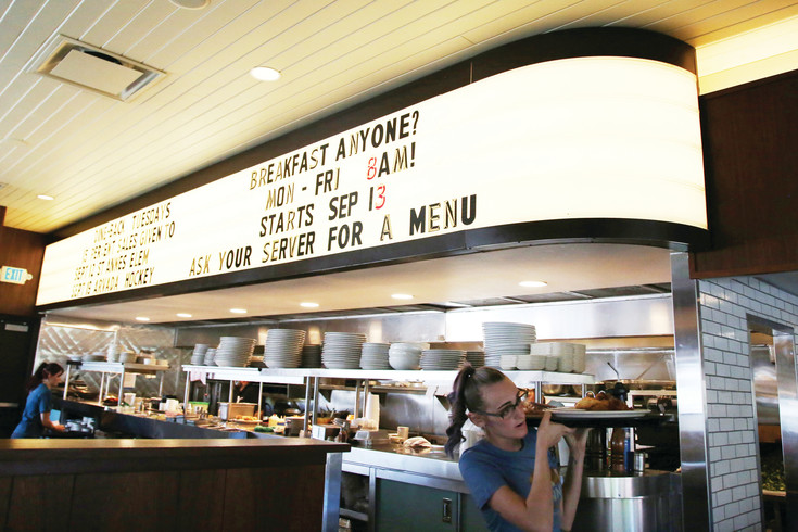 Steuben's Arvada started serving breakfast Sept. 13. The retro-style diner now opens at 8 a.m. daily.