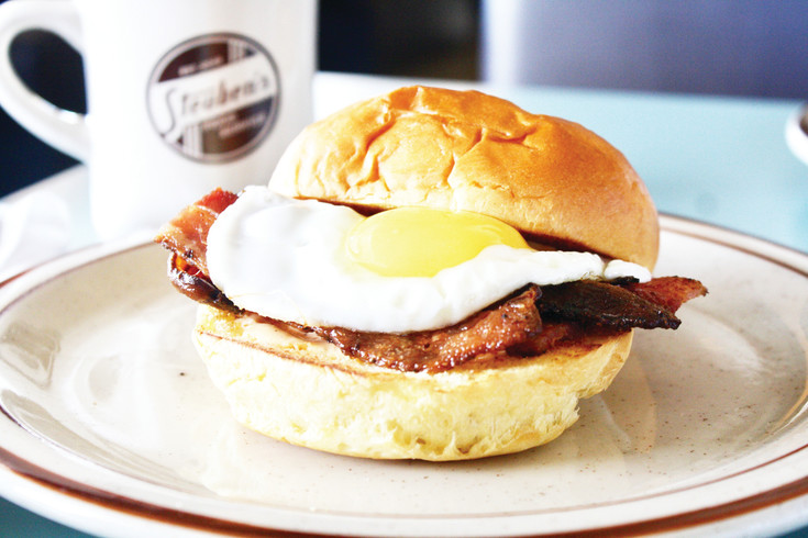 The Steuby Sammy is a classic breakfast sandwich with a twist. It will be sold for $6.