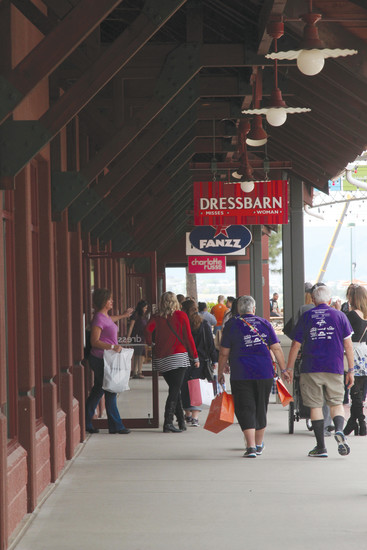 The outlets braced for crowds of at least 2,500 on for its annual charity event.