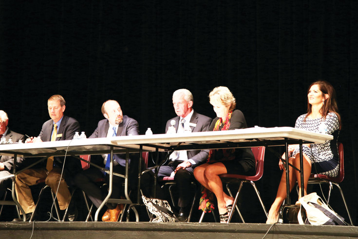 Jefferson County Board of Education candidates talks issues in the first election forum of the season held Sept. 13.