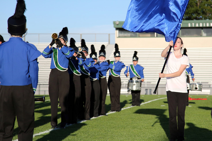 The Standley Lake High marching band came is fourth place in the 3A division at the Jeffco Marching Band Festival.