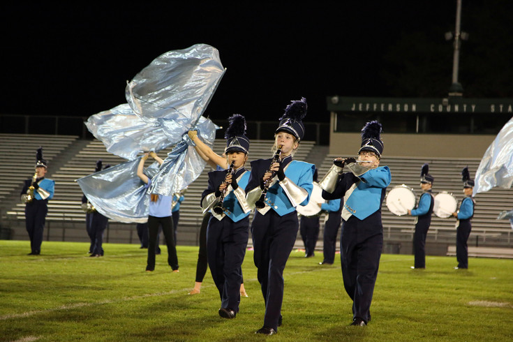 Ralston Valley placed third in the Jeffco Marching Band Festival held Sept. 19.