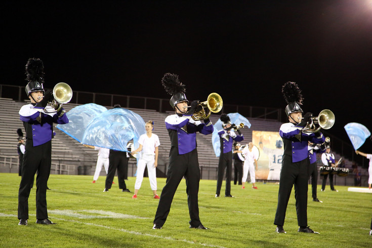 Arvada West High placed fourth in the 5A division of the Jeffco Marching Band Festival.