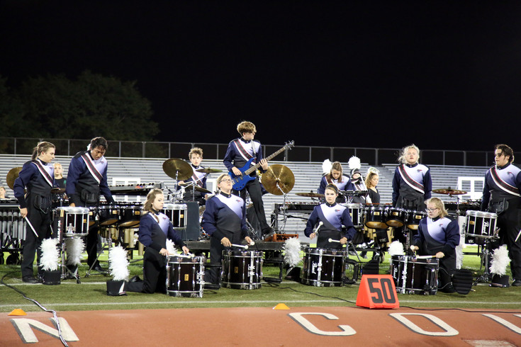 Dakota Ridge placed second in the 4A division of the Jeffco Marching Band Festival.
