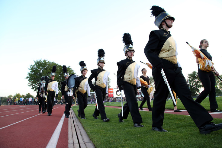 Green Mountain placed third in the 3A division of the Jeffco Marching Band Festival.