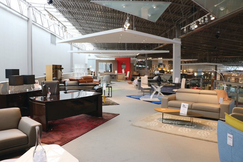 "Owners of ZOLi Contemporary Living, known as Danish Design International and Roche Bobois prior to a rebrand in early September, consider every aspect of their showroom, from natural lighting to the layout of the pieces. ""We believe in the presentation of spaciousness,"" said Abraham Brown, who founded the business with his wife, Corinne Brown."