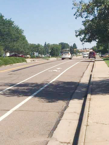 Northglenn began a pilot bike lane project this summer to prepare for a master bike and pedestrian plan the city hopes to implement in future years.