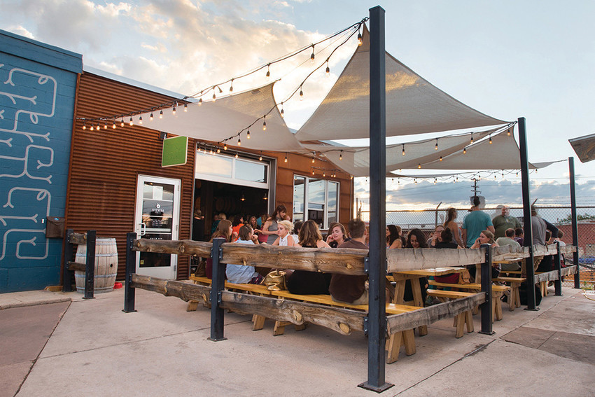 Open until at least 10 p.m. every night of the week, Denver's Stem Ciders also features trivia nights, live music, and pie pairings.