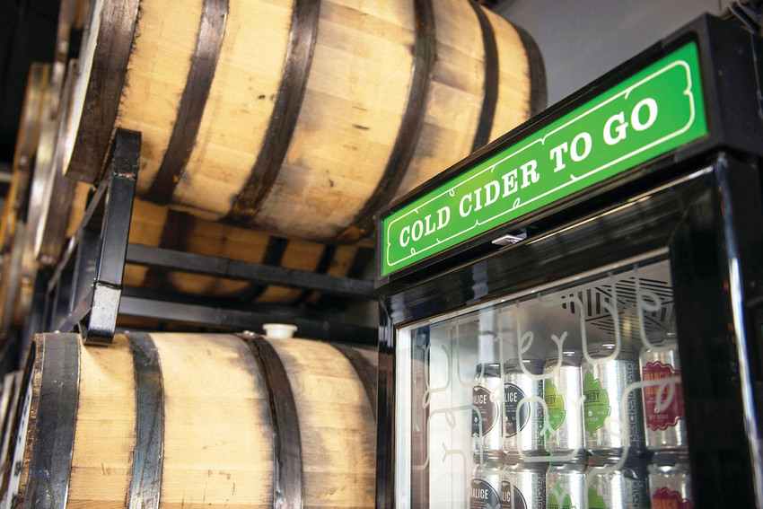 Stem Ciders in Denver takes an innovative approach to hard cider, creating drinks like Coffee Apple Cider and Le Chene.