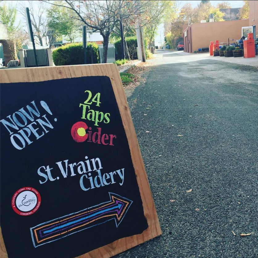 St. Vrain Cidery was created by Dean and Cindy Landi, and cidermaker, Dan Daughert, in 2014.