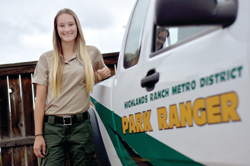 Isabell Watson, park ranger at Highland Ranch Metro District and big game hunter.