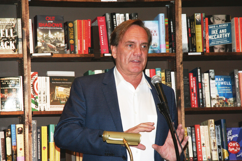 "Philip Jett, author of ""Death of an Heir: Adolph Coors III and the Murder That Rocked an American Brewing Dynasty,"" talks about his experiences during the four years of research that went into writing his debut book during a book signing event on Sept. 26 at the Tattered Cover."