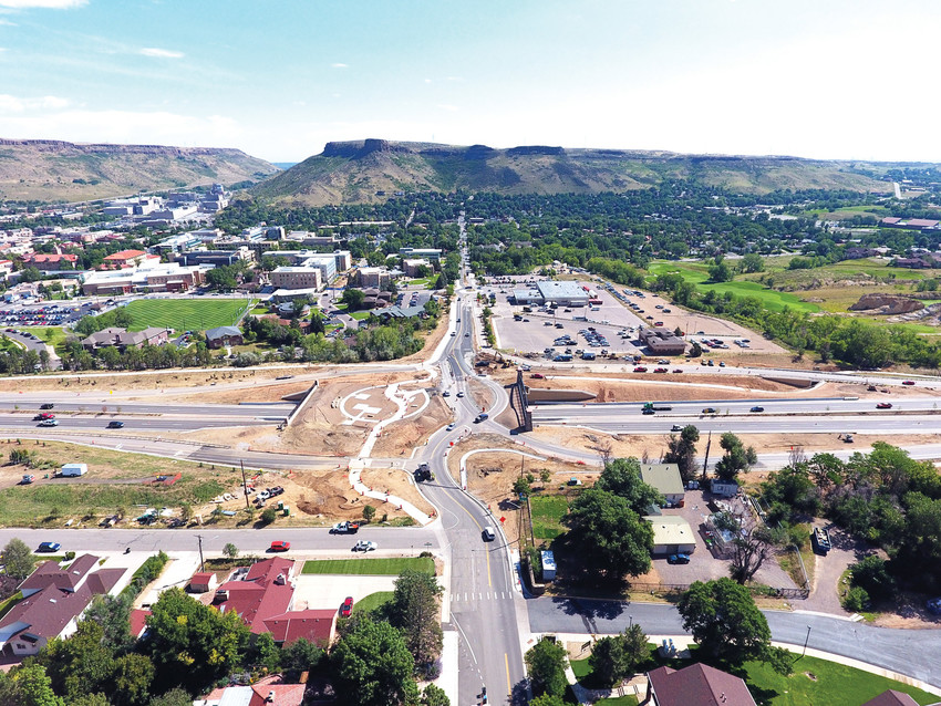 "After a year and a half of traffic delays, detours, construction noise and backups, the city of Golden is officially presenting the new and improved US 6 interchange at 19th Street.  The city is hosting a celebration at 2 p.m., Sunday, Oct. 1 in the new park and amphitheater that makes up part of the new ""Linking Lookout"" overpass."