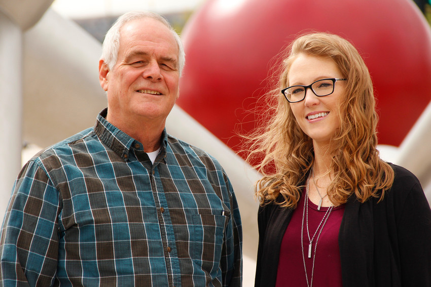 Rick Sanborn and Jamie VanDegrift both joined the Citizens Climate Lobby because they admire the nonpartisan approach the group employs to address climate change. Both say they've received encouraging feedback from neighbors and community members who want the government to take action to mitigate climate change.