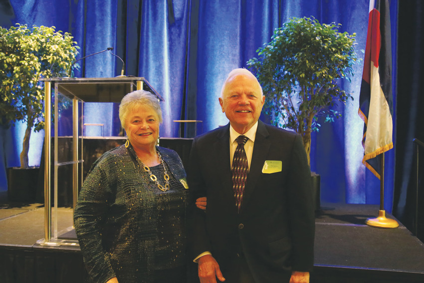 Doris and Paul Guernsey, of Mid-West Machine Products Inc., were awarded the Lloyd J. King Entrepreneurial Spirit Award at the Arvada Economic Development Association's 23rd annual Business Appreciation Awards Oct. 5.