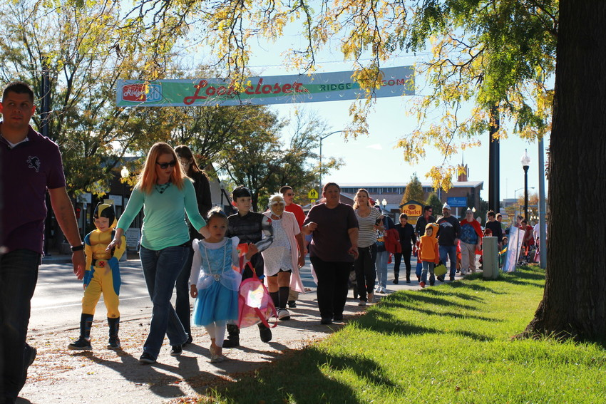 Children go trick or treating at Wheat Ridge's annual trunk or treat. This year's event will be on Oct. 28