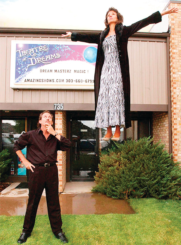 "Magicians Joe Givan and Carol Massie, of Theatre of Dreams in Castle Rock, will perform in ""Magic Beyond Belief!! XII,"" an annual event hosted by the Mile High Magician's Society at Lakewood Cultural Center on Nov. 4."