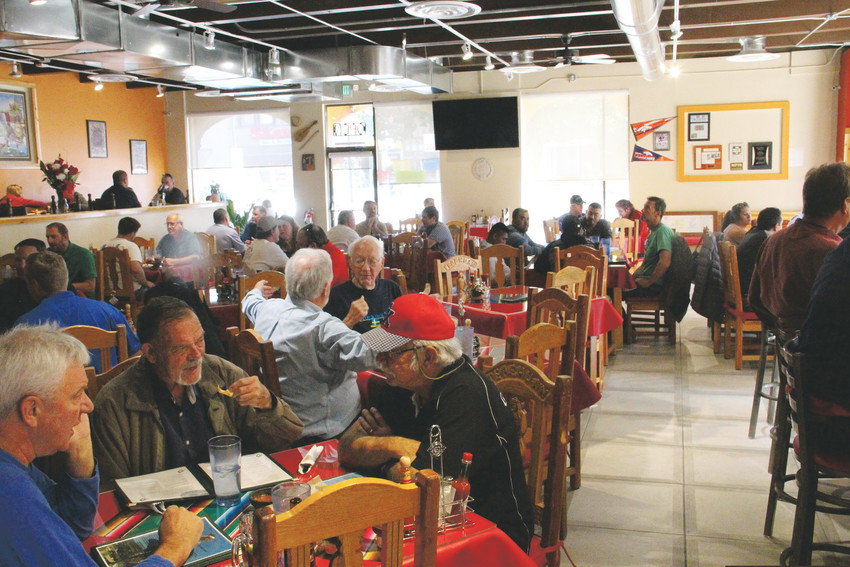 A packed house at lunch at El Tepehuan, a Mexican restaurant that reopened on South Broadway Oct. 16. In business for nearly 40 years, it relocated just down the block, from 3457 S. Broadway to 3495 S. Broadway.