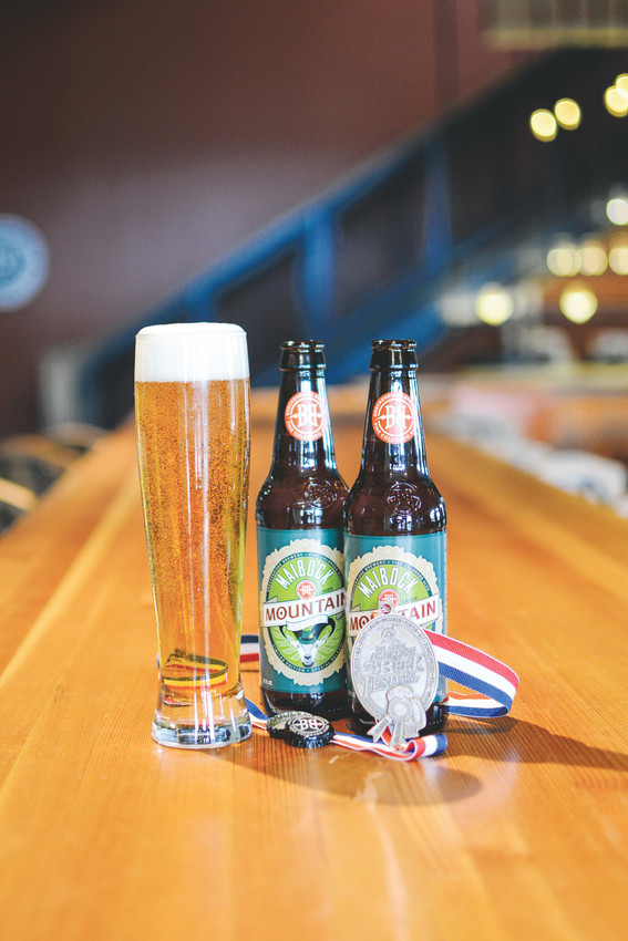 Littleton's Breckenridge Brewery received its fifth Great American Beer Festival medal for its Mountain Series: Maibock. Courtesy Photo