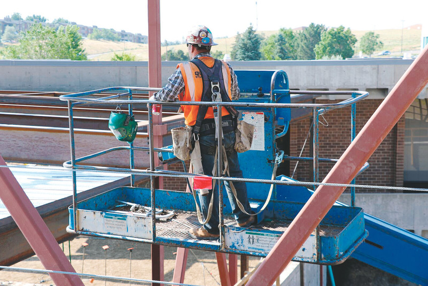 The Rocky Mountain Education Center (RMEC), the continuing education division of Red Rocks Community College, is offering a training program to prevent construction site falls. The training will be available to companies all over the western portion of the country. COURTESY PHOTO
