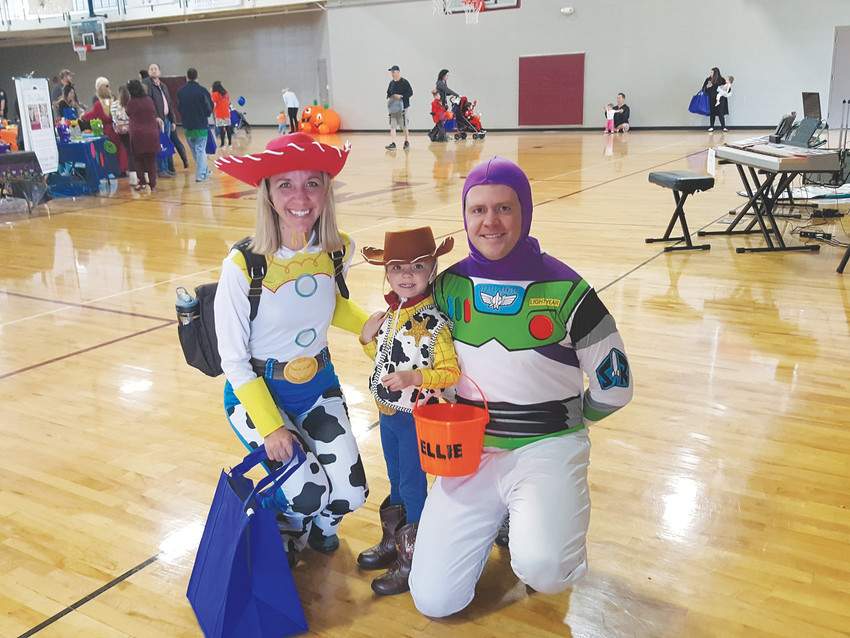 Families with young children flocked to Eastridge Recreation Center on Oct. 28 for the annual Trick-or-Treat Street, where kids spent the morning collecting treats from local businesses.