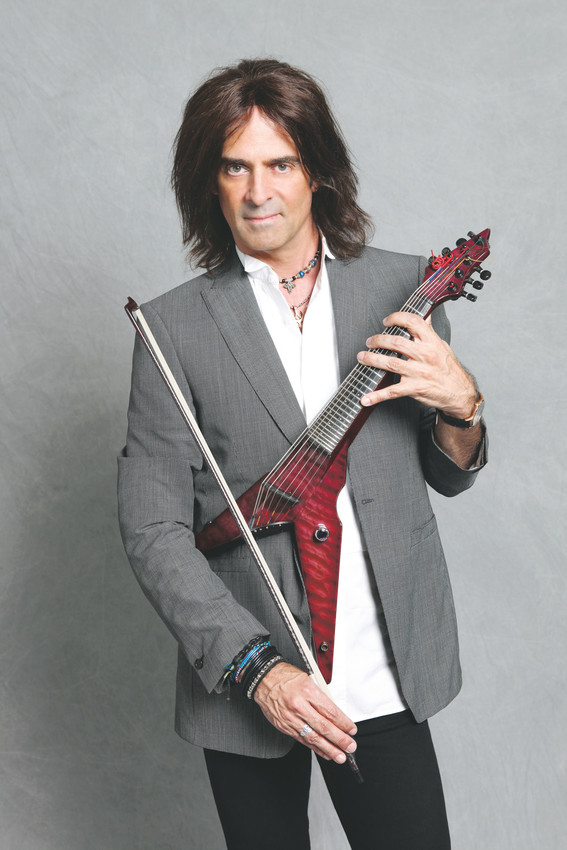 Mark Wood will bring his electric violin to Highlands Ranch High School on Nov. 8-10 to teach young string players his brand of orchestral rock.