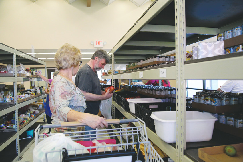 The Arvada Community Food Bank allows residents in need to shop at the Client Choice Store 12 times a year.