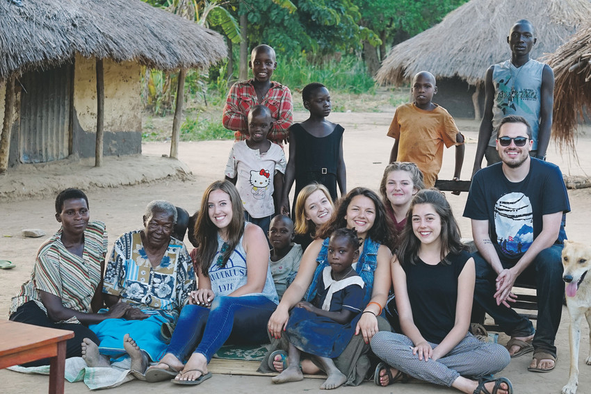 Every year, Lakewood High School students go to Uganda with Far Away Friends, to volunteer to help students at Uganda's Global Leaders Primary School.
