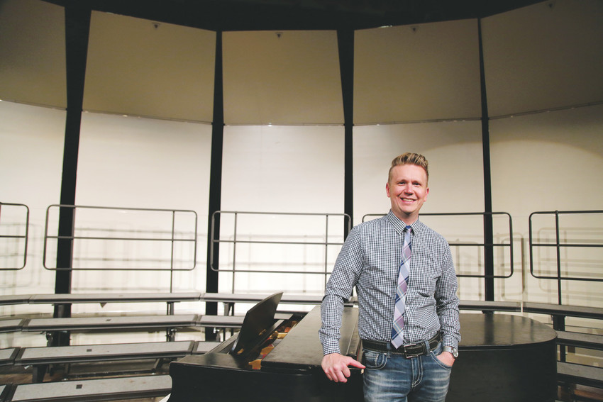 Chris Maunu is the director of choral studies at Arvada West High School and was recently named as a semi-finalist for the Grammy Music Educator Award.