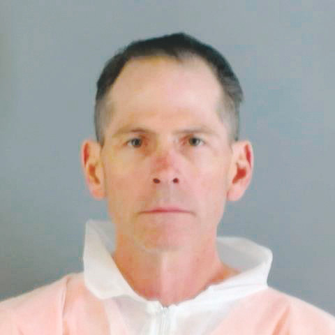 Scott Ostrem in a jailhouse photograph, was arrested Nov. 2 for three counts of murder Nov. 1 in the Thornton Walmart.