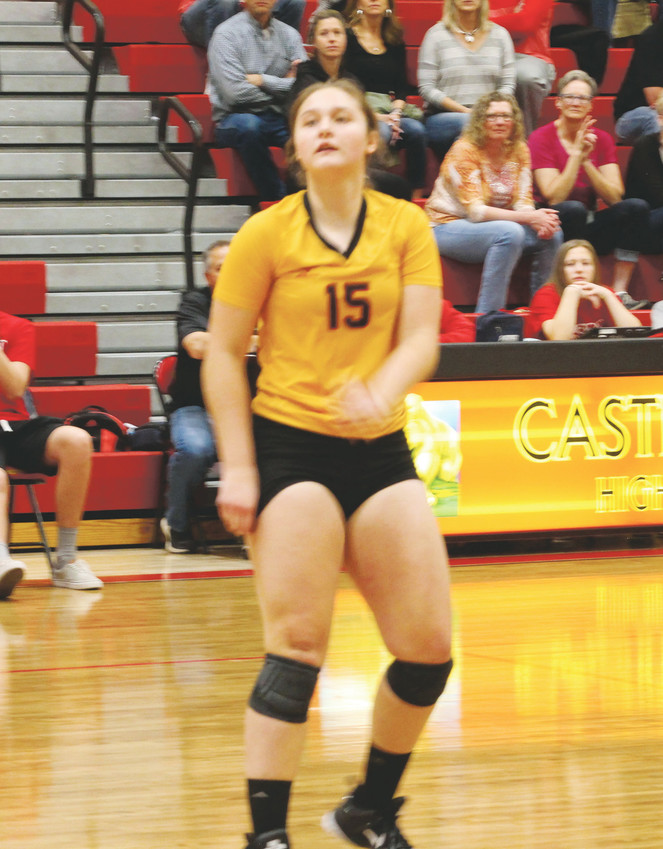 Sophomore Leanne Lowry had a combined  42 digs as Castle View notched 3-0 wins over Broomfield and Lakewood in the Region 3 tournament on Nov. 4. The Jaguars advanced to the 5A state tournament which will be held Nov. 10-11 at the Denver Coliseum.