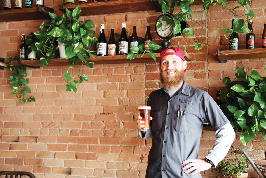 Andrew Dahler is the beer curator at Kline's Beer Hall in Arvada.