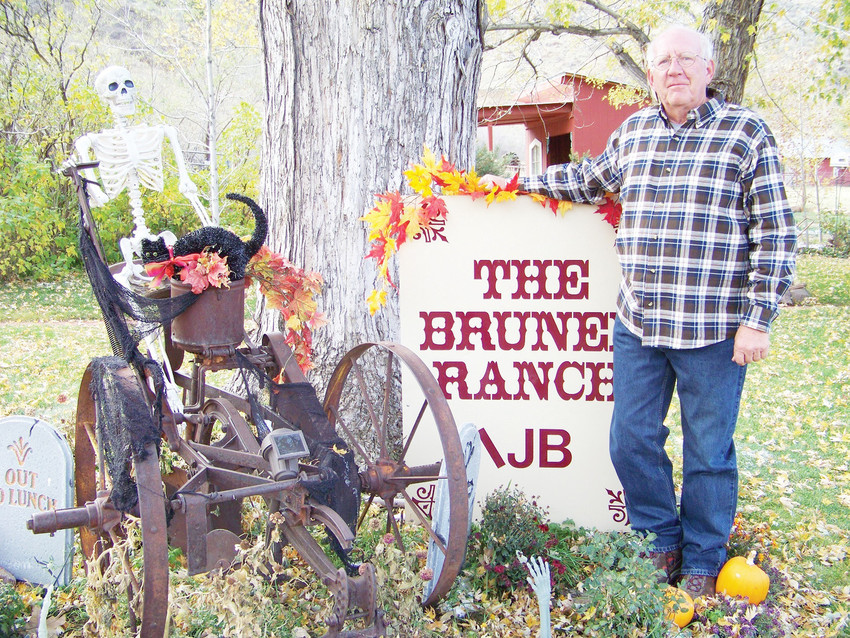 John Brunel, 66, lives in a house that was built by his great grandfather in the late 1800s. The Brunel family property still includes 103 acres, and it is located at the mouth of Golden Gate Canyon Road.