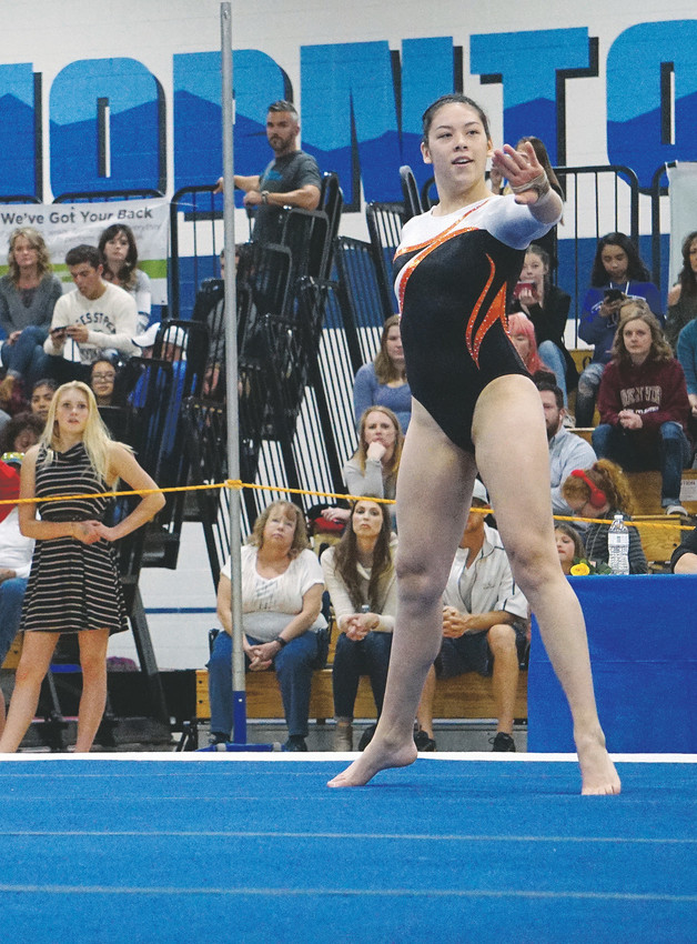 Lakewood junior Amber Boll placed in the top-3 in the all-around, uneven bars, floor and won the vault title at the Class 5A state gymnastics meet last week at Thornton High School.