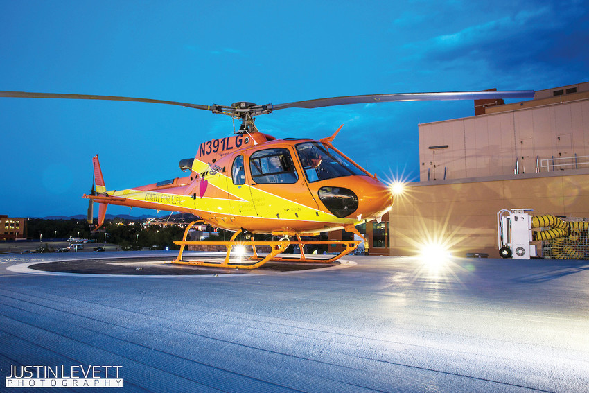 Flight For Life Colorado transports patients across several states in the Rocky Mountain Region and assists search and rescue agencies with services including aerial search support and avalanche deployment programs.