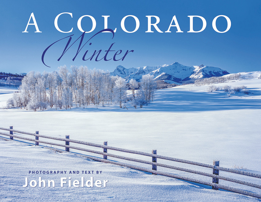 "Colorado photographer John Fielder will appear at the Castle Pines Dec. 1 event, to introduce his new ""A Colorado Winter,"" and sell and sign previous publications as well."