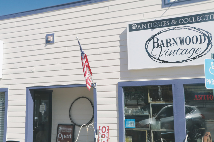Barnwood Vintage, a store offering vintage and rustic items for sale or rent, is at 166 Main St. in Elizabeth.