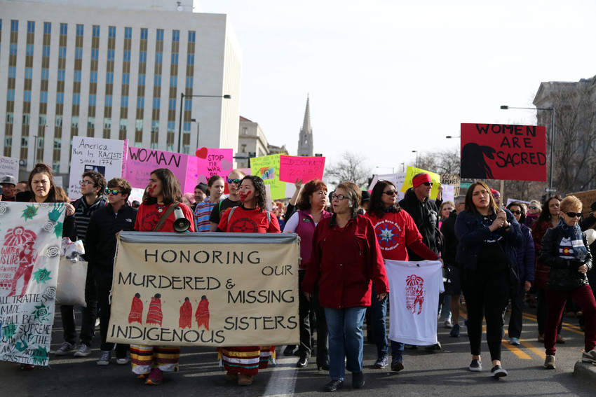 Rights and respect of indigenous women was among the issues represented.