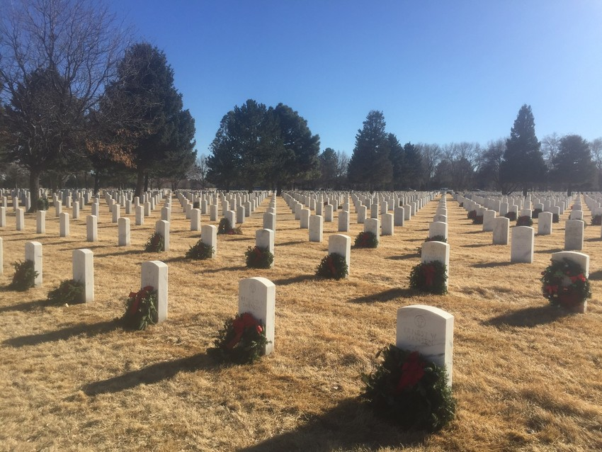 Fort Logan National Cemetery.