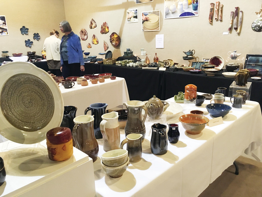 Members of the Arapahoe Ceramic Guild will show and sell their works on Nov. 30-Dec. 2 in the Colorado Gallery of the Arts at Arapahoe Community College, Littleton campus.