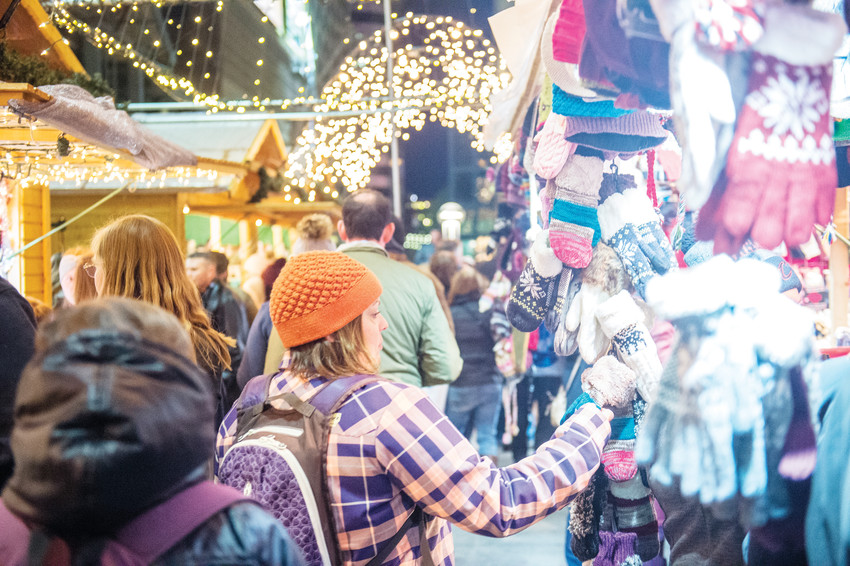 Shoppers at Denver's annual Christkindl Market will be transported to a traditional German town square for their holiday shopping.