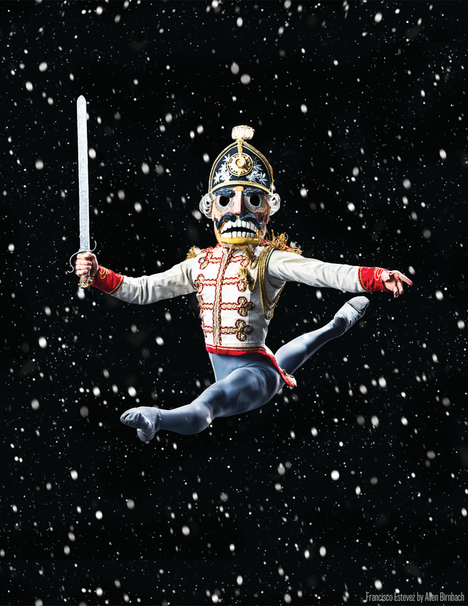 "Colorado Ballet's Francisco Estevez performs as the Nutcracker Prince in the company's popular production of ""The Nutcracker."" (Sold out in 2016.)"