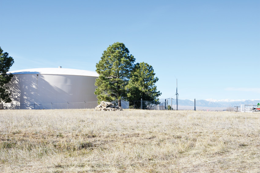 This pair of water tanks along Bradburn Drive in Westminster are slated for relocation, under a current city infrastructure construction plan.
