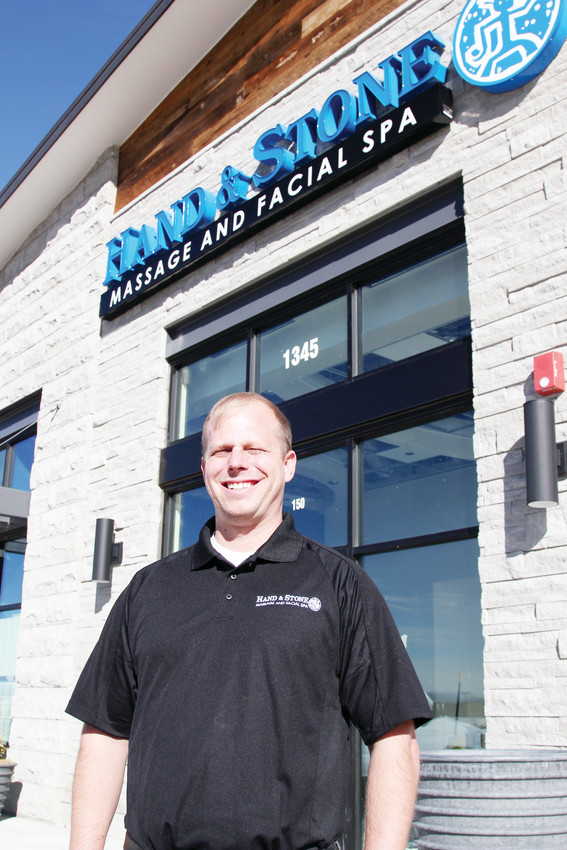 Matt Gill left a real estate career to open a Hand & Stone Massage and Facial Spa, located at 1345 New Beale Street in Castle Rock.