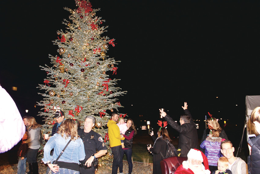 Hundreds of residents were on hand at the Lone Tree Arts Center Dec. 1, to kick off the holiday season with the official lighting of the Tree.