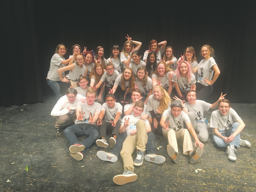 "The cast of Legacy High School's fall production of ""Harvey"" takes their show on the road this month. The production is one of two shows taking the massive stage at Denver's Bellco Theater for a performance with the Colorado State Thespian Conference Dec. 8."