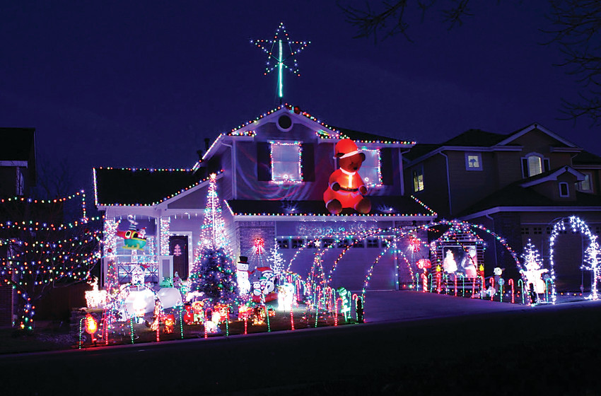Last year, the Bogle home on Brentwood Circle took first place in HRCA's annual House Decorating Contest. Voting for this year's conest is open online until Dec. 15.
